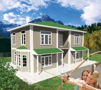 147 m² Prefabrik Konut