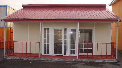 Prefabrik ev 100 m2 model 3 35 000 tl 2008 yapımı sn tunca