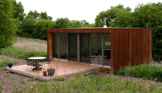 Bahçe evleri için prefabrik