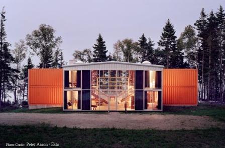 Prefabrik ev modeli