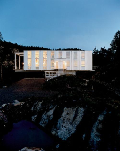 Havalı Modern Prefabrik evler