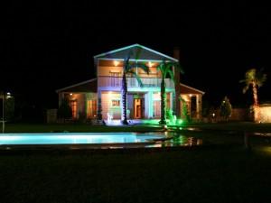 prefabrik-villa-gece