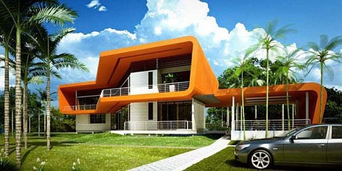 Prefabrik Lüx villa modelleri