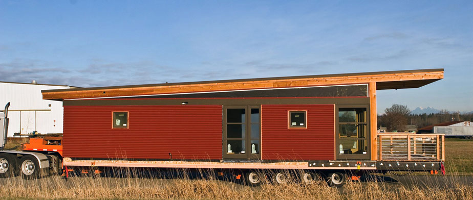 Prefabrik evler nasıl taşınır ?