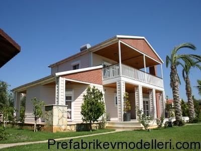 modern prefabrik ev modeli